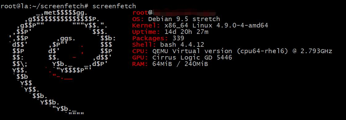 screenfetch linux